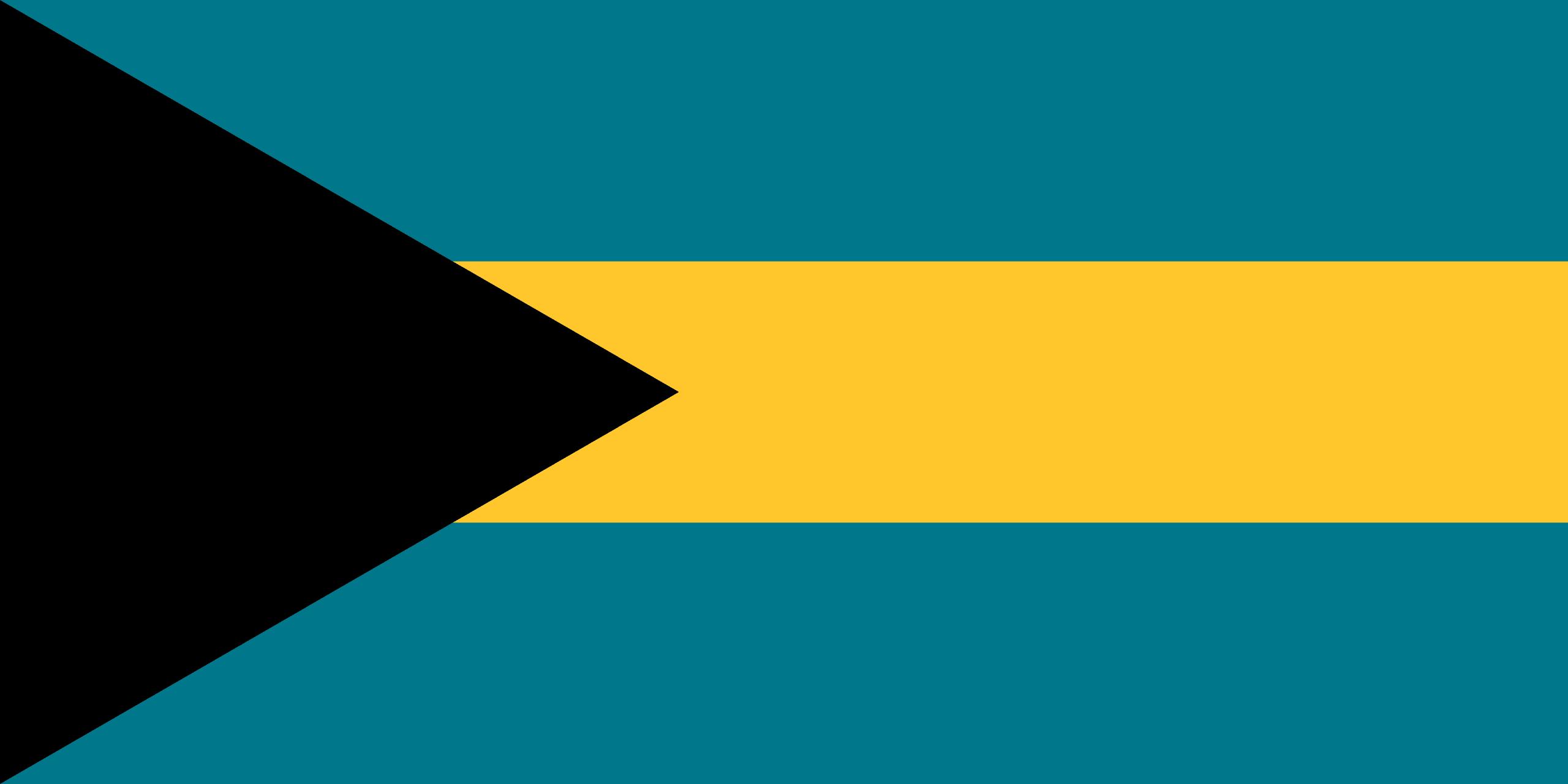 バハマの旗